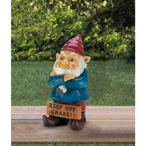 Keep Off Grass Grumpy Gnome - $38.00