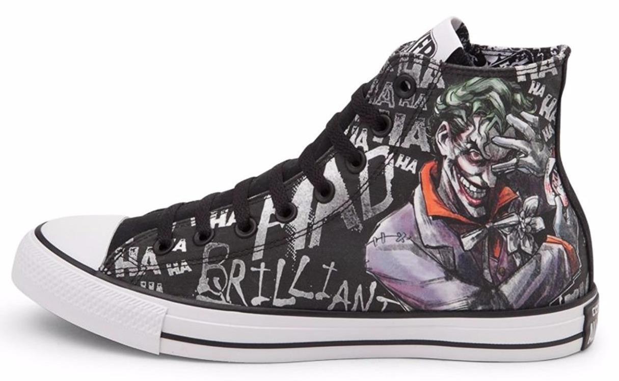 beb9b69bcdab Converse DC Comics The Joker Laugh Sneakers and 50 similar items