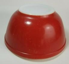 Vintage Pyrex Red Mixing/Nesting Bowl #402 Older Mark 1-1/2 Quart Size Primary - $34.60