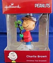 Charlie Brown Peanuts Hallmark Christmas Tree Ornament 2018 NIB New - $24.75
