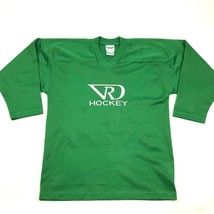 VINTAGE Vail Hockey Jersey Youth Size S - M Green Loose Fit Dolman Sleev... - $27.33