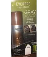 NEW EVERPRO ESSENTIALS GRAY AWAY FOR MEN TEMPORARY GRAY COVERAGE 1.5 OZ - $9.49