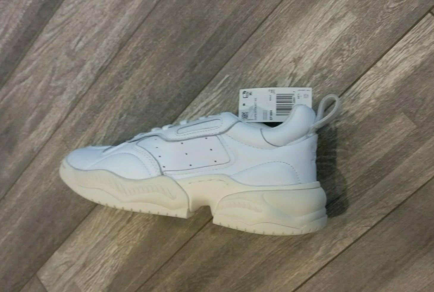 Primary image for Adidas  Supercourt RX Casual White Crystal Shoes EF1894 Men's Size 10.5