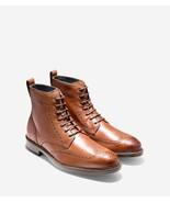 COLE HAAN KENNEDY WINGTIP BT II MEN'S WOODBURY LEATHER BOOTS SZ 7, #C26966 - $144.49
