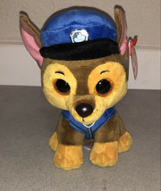 """Ty Beanie Boos PAW Patrol Chase The 6"""" Dog NEW WITH TAGS! - $14.62"""