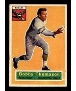 VINTAGE NFL 1956 Topps #100 Bobby Thomason VG/VGEX - $6.98
