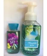 Bath and Body Works HONOLULU SUN Mini Shower Gel 3 oz + Foaming Hand Soa... - $26.68