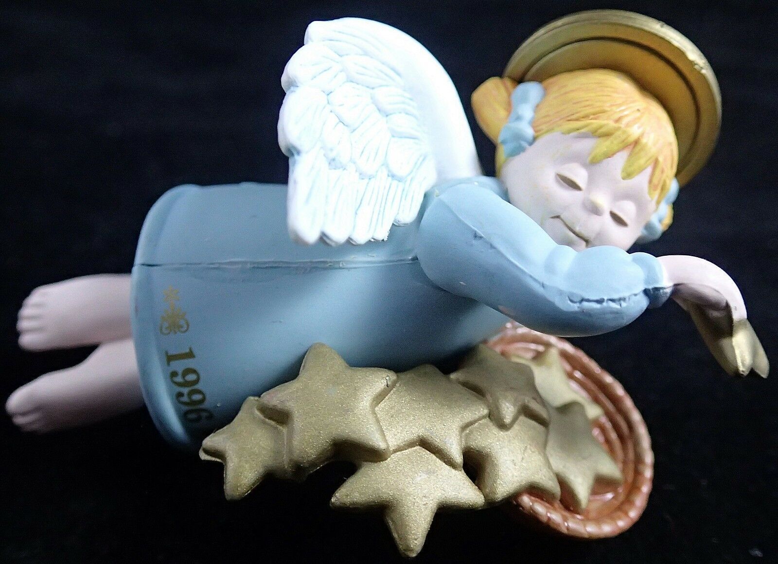 Primary image for Angel Ornament Seasons Greetings Christmas First In Series 1996 ROUNDYS