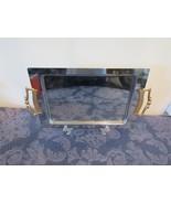 Vintage 1960's Kromex Chrome Serving Tray, Platter Retro, Mid Century, 1... - $14.92