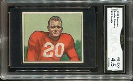 1950 Bowman #92 Garrard Ramsey Chicago Cardinals (GMA Graded VG-EX+ 4.5) - $24.74