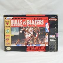Bulls vs. Blazers and the NBA Playoffs (Super Nintendo, 1992) - Complete - $2.47
