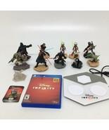 Disney Infinity 3.0 PS4 Game + 10 Star Wars Figures+ 1 Crystal + Base Po... - $46.74
