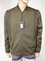 RLX Ralph Lauren Men's Green Grey Full Zip Sports Bomber Fleece Jacket $225 - $79.99