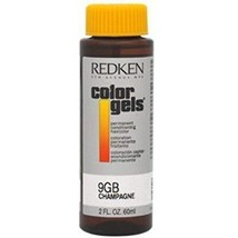 Redken - Color Gels Permanent Conditioning Haircolor 9GB - Champagne (2 ... - $33.96