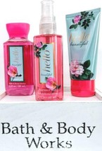 Bath & Body Works Hello Beautiful Body Cream, Body Spray & Bath Gel Trav... - $19.16