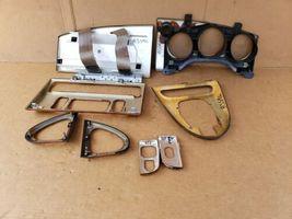 00-03 Jaguar XK8 XKR 8pc Wood Grain Dash Console Switch Trim Set image 9