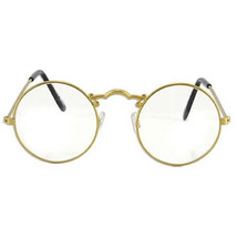 SteamPunk Cosplay Old Fashioned Style Gold Eye Glasses NEW UNWORN - €6,93 EUR
