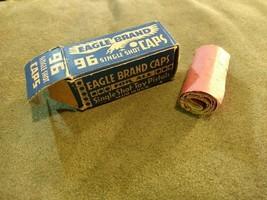 Old Vintage 96 Eagle Brand Toy Gun Caps single shot toy pistols USA cowb... - $19.99