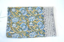 Multicolour Hand block print Sarong,Beautiful scarf,Hand made Pareo,Cott... - $29.99