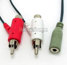 Audio RCA Female Jack Cable for Turtle Beach X12 PX21 P11 X11 headphone - $5.99