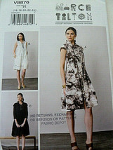 Vogue Pattern 8876 March Tilton Lady's dress Size 16 18 20 22 24 UNCUT - $7.61