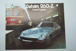 1974 datsun 260 z owners sales brochure used original   - $29.99