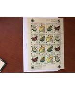 San Marino WWF Butterflies m/s 1993 mnh  - $11.95
