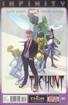 (CB-3) 2013 Marvel Comic Book: Infinity - the Hunt #3 - $2.50