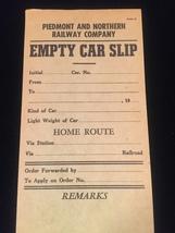 Vintage Train/Railway Empty Car Slips - set of 2 image 2