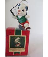 Christmas Hallmark Keepsake 1987 Jogging Through the Snow Ornament - $6.79