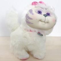1996 Mattel Cabbage Patch Kids Adopt 'N Luv Pets White Kitty Cat Plush 7... - $118.79