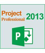 Microsoft Project 2013 Professional 32/64 Bit Key & Download - $244,46 MXN