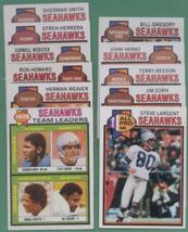 1979 Topps Seattle Seahawks Football Set - $4.99