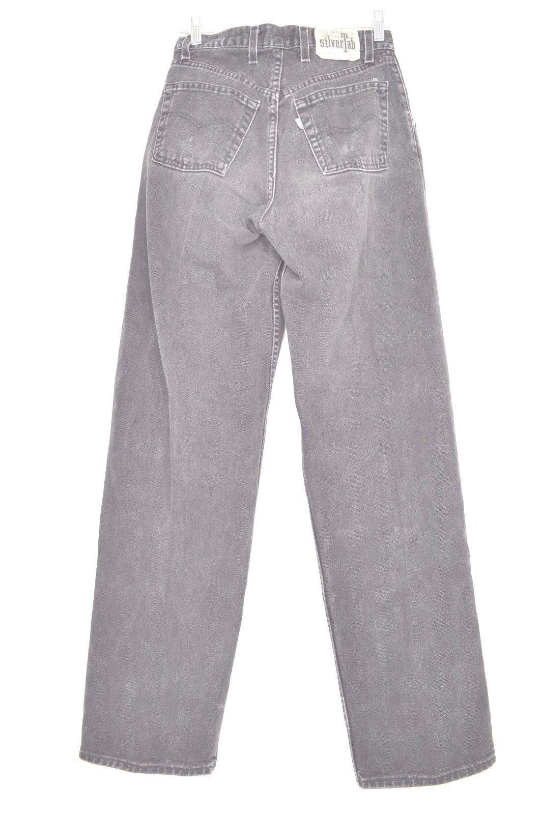 Levi jeans men SilverTab 29x34 USA Baggy vintage black mid rise 100% cotton rap