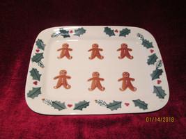 "Hartstone Gingerbread 12 5/8"" x 9 5/8"" platter - $22.72"
