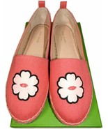 Kate Spade New York Gavyn Peony Canvas Espadrilles Sneakers Sz 8.5 Pink ... - $59.99