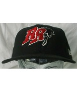 Texas Rough RiderBaseball Fitted Black Hat/ Cap 7 1/8 56.8 cm New Era  - $14.85