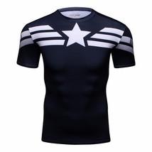 T-shirt Superhero 3D printing Men Civil War T Compression T Shirts Marve... - $18.00