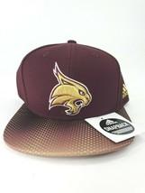 Texas State Bobcats Official NCAA Adidas Adult Hat - Flat Brim - Snapback - $14.84