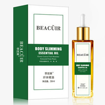 BEACUIR Body Slimming Natural Essential Oil Green Removes Fat Nourish Sk... - $9.49