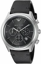 Emporio Armani Chronograph Black Dial Men's Watch AR1975 - $140.14