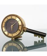 SWIZA Vintage Alarm Clock Mantel Alarm KEY Shaped Top! State SWISS Desk ... - $159.00