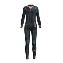 Infinity War Black Widow Costume Black Widow Jumpsuit Cosplay 3D Printed Sexy - $26.70