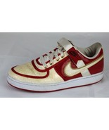 Nike retro 2008 women's shoes varsity red logo accent swoop size 8.5 - $40.30