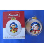 Campbell's Happy Holidays 2004 Glass Ornament. - $8.59