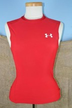 Under Armour Boy's Axtive Wear Red Workout Tanktop Size S - $6.04