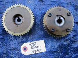 04-06 Acura TSX K24A2 camshaft gears cam gears RBB K24 engine motor OEM ... - $99.99