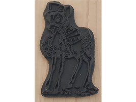 Stampendous 2012 Special Delivery Wood Mounted Rubber Stamp #M269 image 2