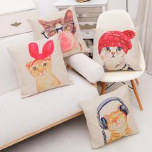 Lovely Cat Cushion Cover for Cat Lover - £9.16 GBP