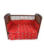 North Carolina Wolfpack Crib Set 5 Piece Cotton - $102.90